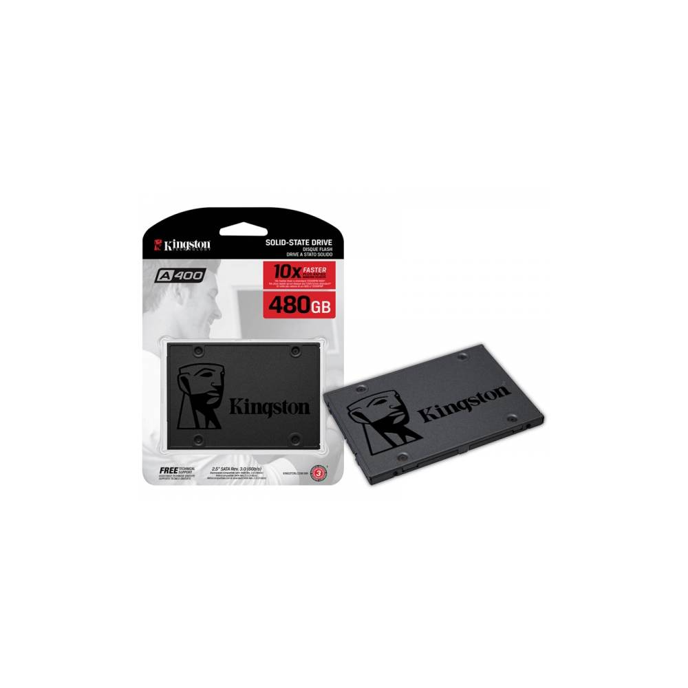 SSD KINGSTON 480GB A400