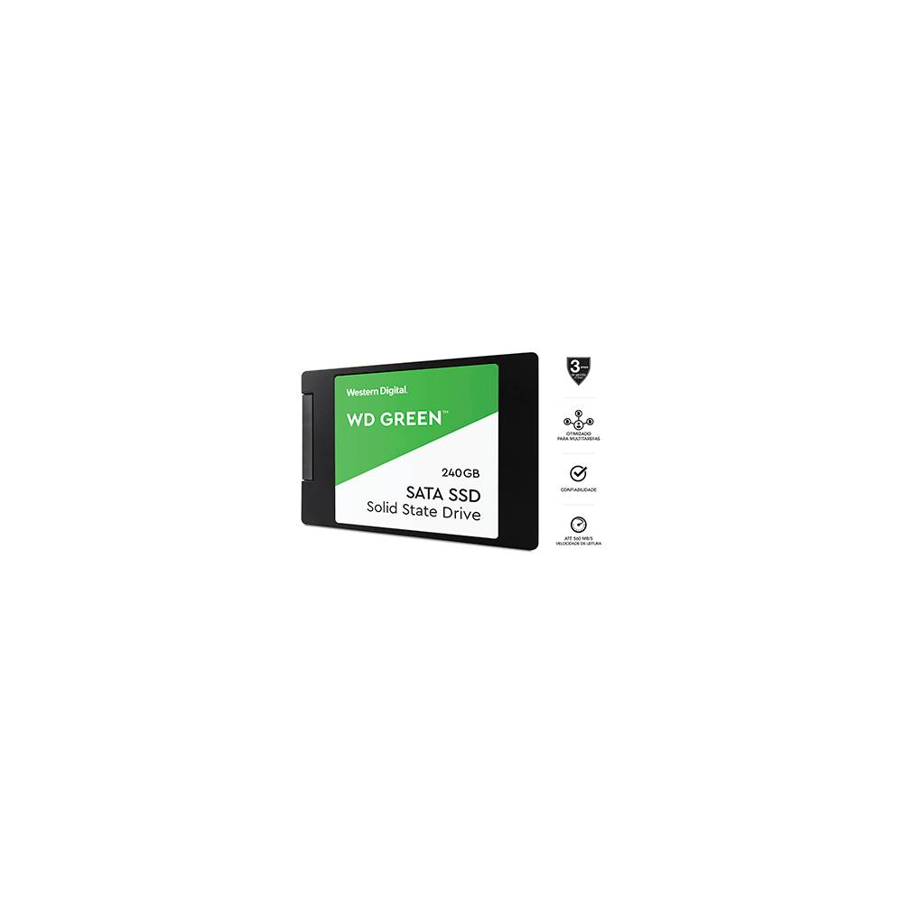 SSD WESTERN DIGITAL 240GB WDS240G2G0A
