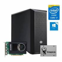 WORKSTATION Intel i7-7700 QUADRO P2000 16GB SSD240GB 1T 500W